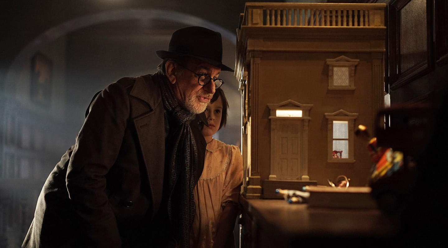 Steven Spielberg & Ruby Barnhill / The BFG