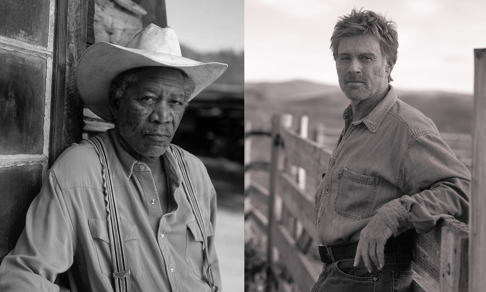 Morgan Freeman & Robert Redford