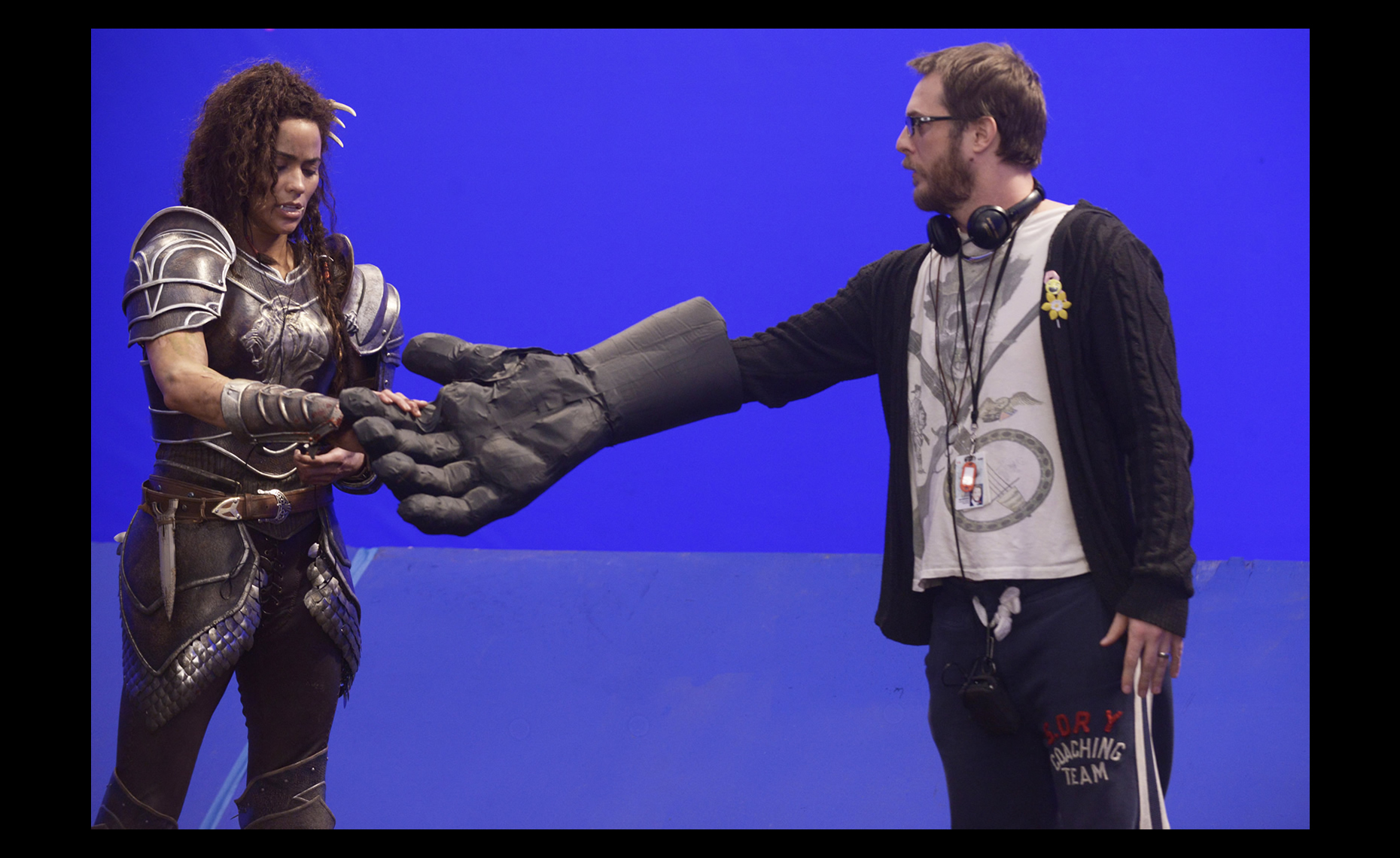 Paula Patton & Duncan Jones /  Warcraft